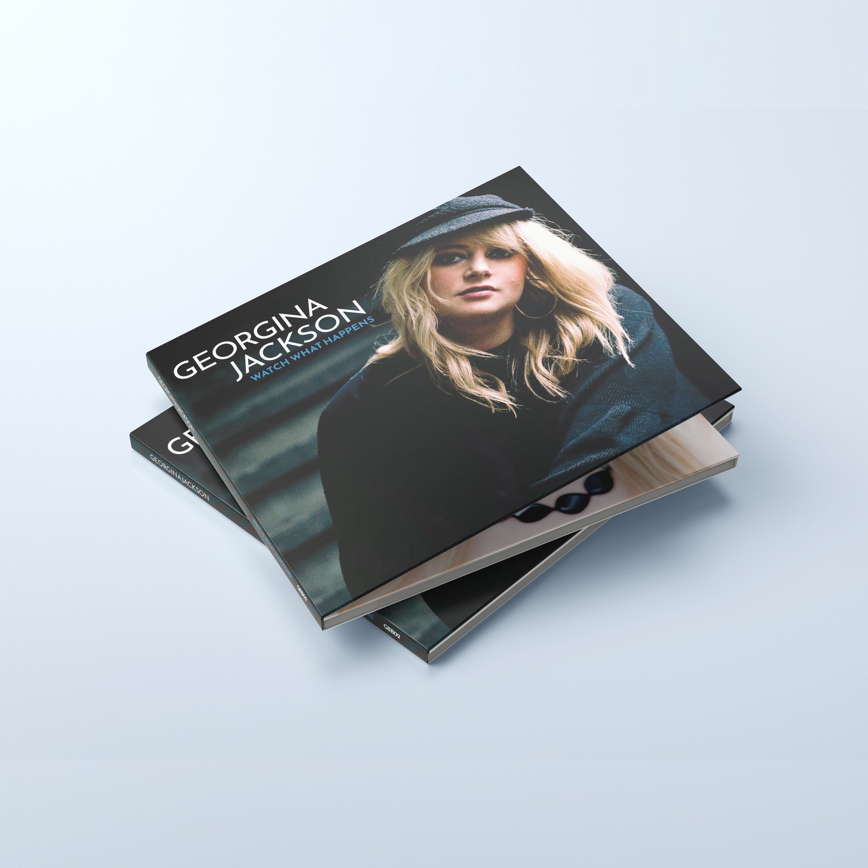 CD Packaging Design - Georgina Jackson | Wes Butler Graphic Design Corby