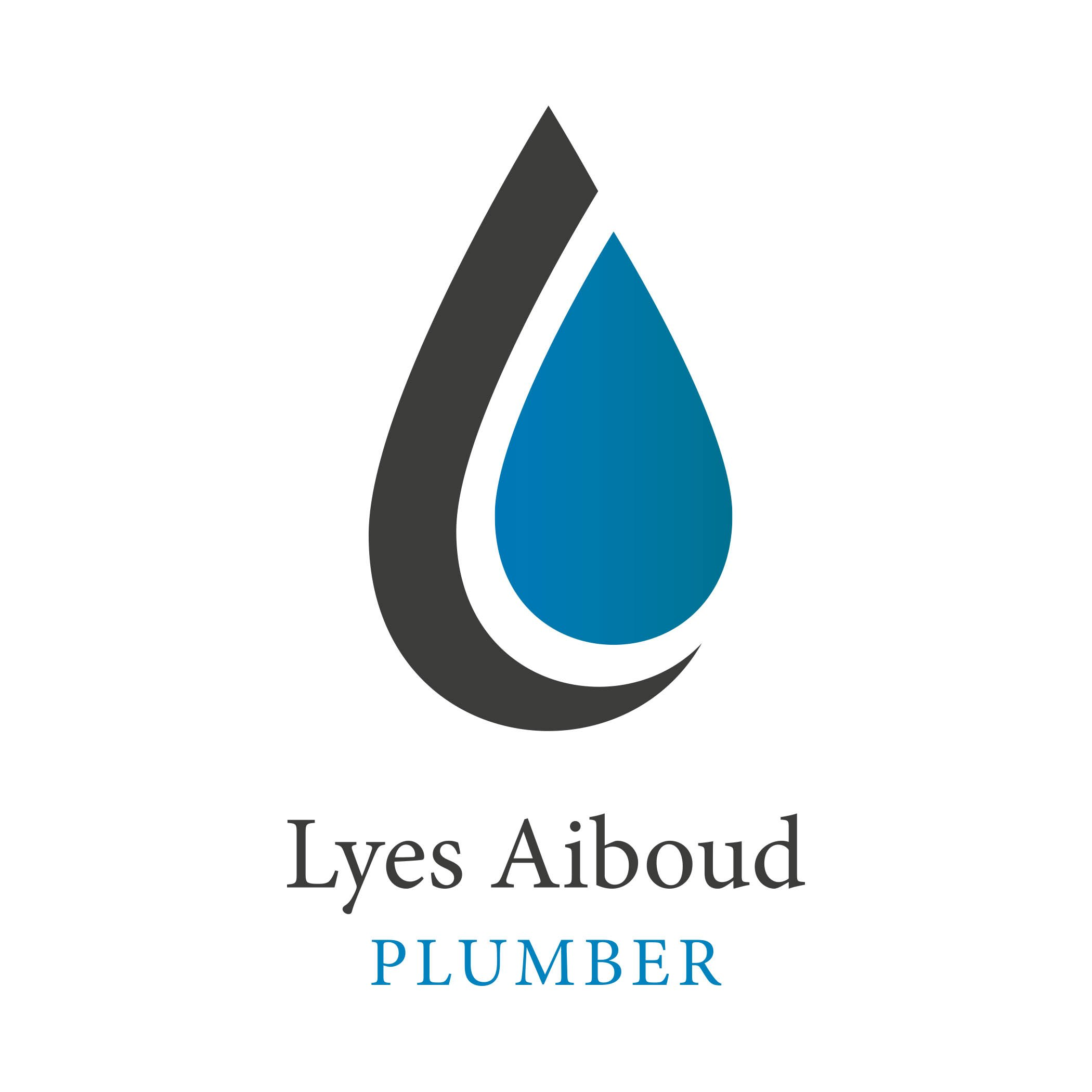 Logo Design for local plumber Lyes Aiboud