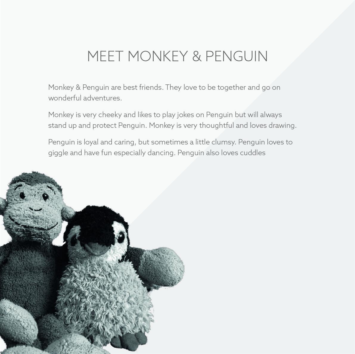 Meet Monkey and Penguin Logo