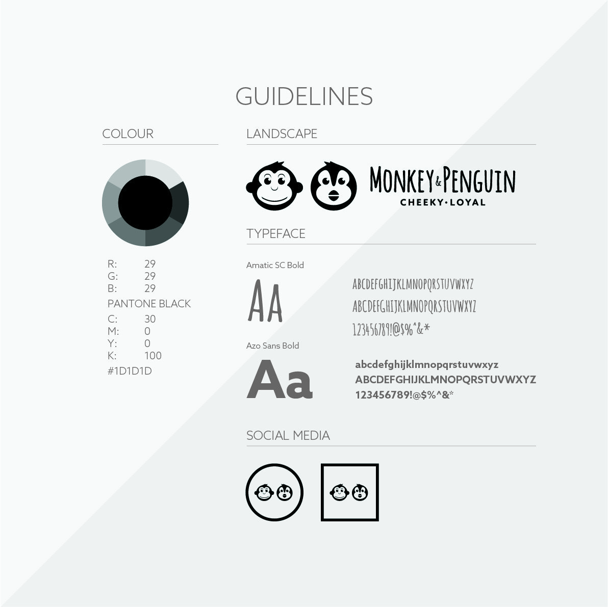 Monkey and Penguin Logo Guidelines