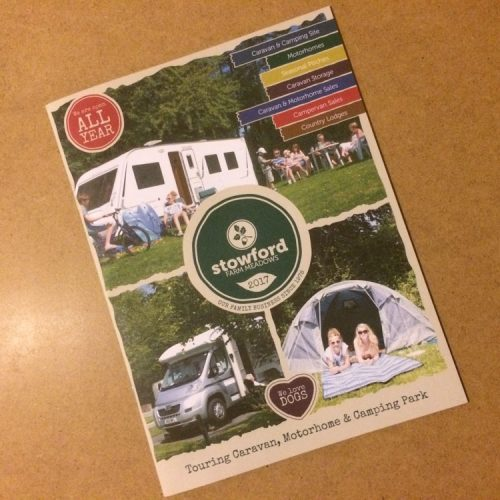 Brochure Design for Holiday Park | Wes Butler Freelance Graphic Design Corby