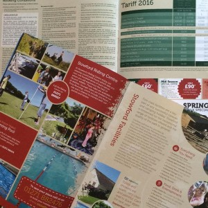 Caravana Holiday Brochure Design - Stowford Farm Meadows | Wes Butler Graphic Design