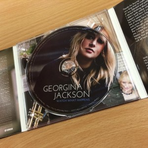 CD Label Design - Georgina Jackson | Wes Butler Graphic Design