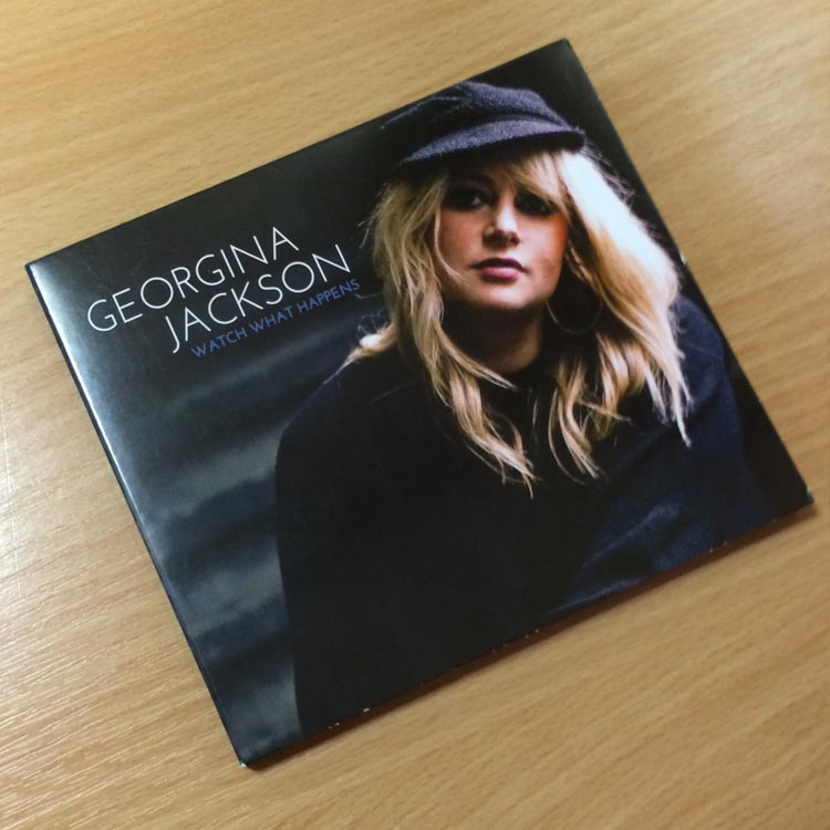CD Packaging Design - Georgina Jackson