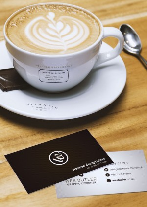 coffee-and-business-card