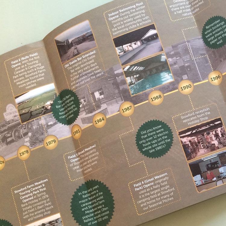 Design Souvenir Brochure - Stowford