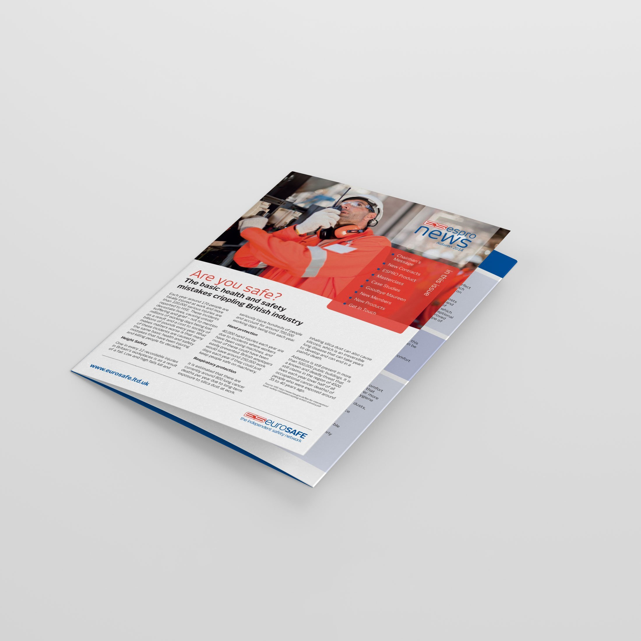 Business Newsletter Design | Wes Butler Graphic Design