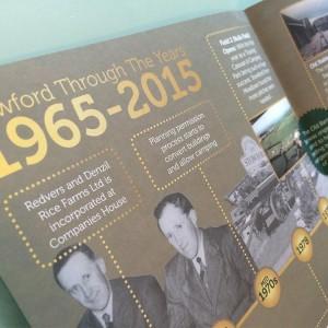 Souvenir Brochure Design - Stowford